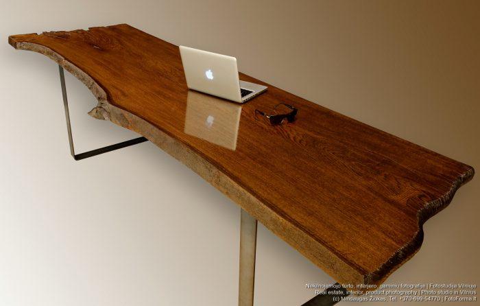 Baldų, medienos gaminių fotografija