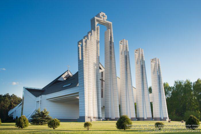 Bažnyčių, religinių objektų, nekilnojamojo turto fotografija. Fotoforma.lt