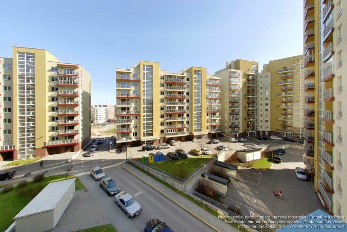 Naujas daugiabučių kvartalas, Pašilaičiai, Vilnius. NT fotografija. Fotoforma.lt
