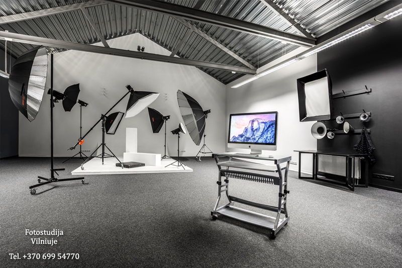 Fotostudija Vilniuje. Photo studio in Vilnius.